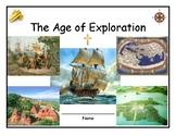 European Explorer Note-Taking Packet