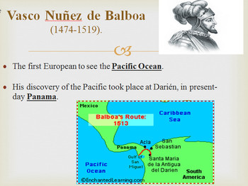 European Explorers PowerPoint with Interactive Notes 4th Grade SS