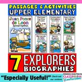 European Explorers: Hudson, Cartier, Cabot, Balboa, Ponce