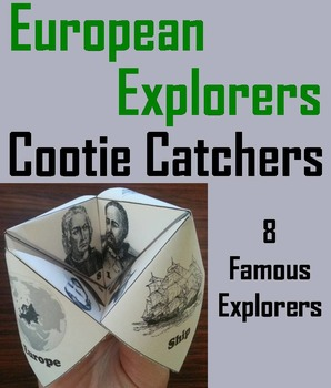The Age of Exploration Unit: Early European Explorers Activity/ Foldable