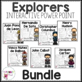 European Explorers 3rd grade Interactive PowerPoint: BUNDLE