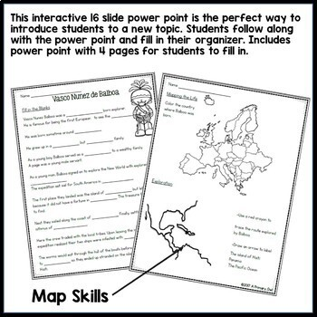 European Explorers 3rd grade Interactive PowerPoint: BUNDLE