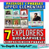 European Explorers: Hudson, Cartier, Cabot, Balboa, Ponce de Leon, de Soto, more