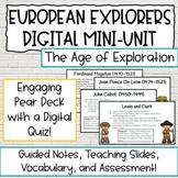 European Explorers 5th Grade Digital Activities