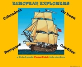 European Explorers – A Third Grade PowerPoint Introduction