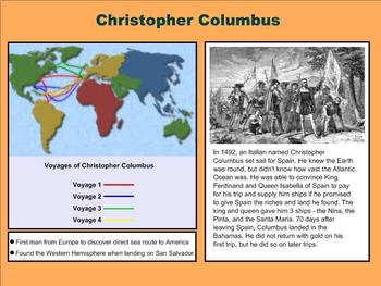 European Explorers – A Third Grade PowerPoint Introduction