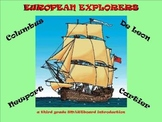 European Explorers - A Third Grade SMARTboard Introduction