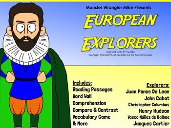 European Explorers: Activities & Reading Passages