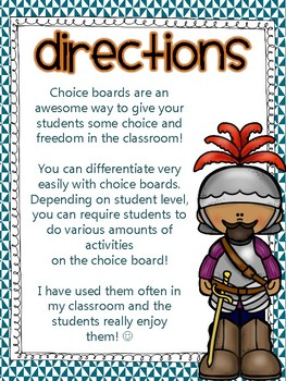 European Explorers - Age of Exploration Project Choice Board