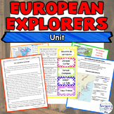 European Explorers Unit using Nonfiction Readings and Activities