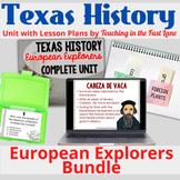 European Explorers Bundle Texas History