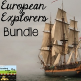 European Explorers in Texas Bundle with Lesson Plans