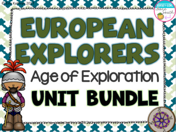 European Explorers - Age of Exploration Unit Bundle