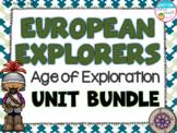 European Explorers Unit Bundle- Cabot, Hudson, Balboa, Leo