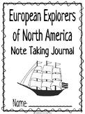 European Explorers CKLA Note Taking Journal