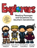 European Explorers Close Reading Passages and Questions