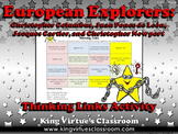 European Explorers: Columbus, Ponce de León, Cartier, Thinking Links Activity #2