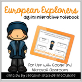 European Explorers Digital Interactive Notebook
