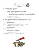 European Explorers - FIVE Differentiated Instruction Activities