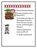 European Explorers Fluency Say What???? Virginia SOL 3.3