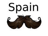 European Explorers Group Activity- Country Name tags
