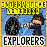 European Explorers Social Studies Interactive Notebook