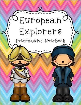 European Explorers Interactive Notebook