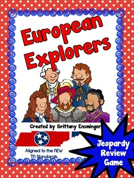 European Explorers Jeopardy Review Games