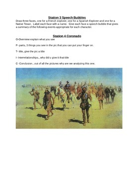 European Explorers Learning Centers with Answer Sheet