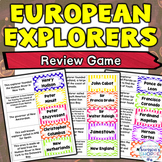 European Explorers Review Match Card Game