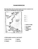 European Explorers Mini Quiz