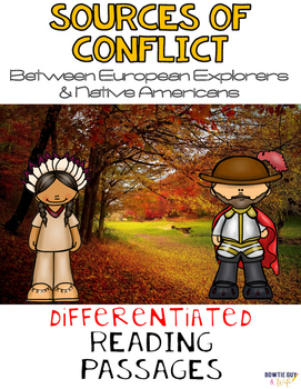 European Explorers & Native American Conflict Differentiated Reading Passages