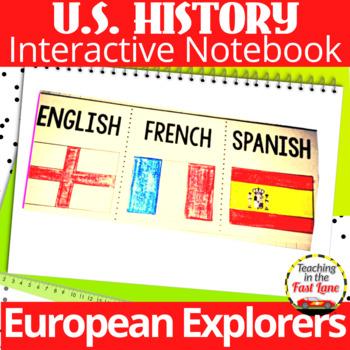 European Explorers Notebook Kit       (U.S. History)
