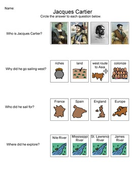 European Explorers Packet