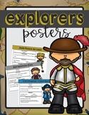 European Explorers Posters in English