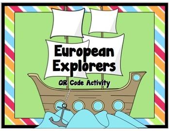 European Explorers: QRCode Research Worksheet