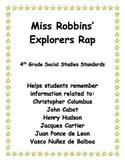 European Explorers Rap - 4th Grade