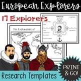 European Explorers Research Template
