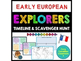 European Explorers: Scavenger Hunt & Timeline