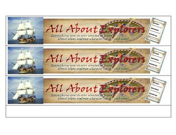 European Explorers Sort Activity