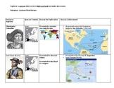 European Explorers Study Guide, Map Practice/Quiz