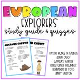 European Explorers Study Guide & Quizzes