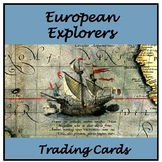 European Explorers Trading Cards
