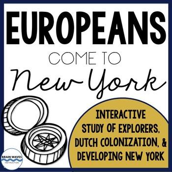 European Explorers Unit - Social Studies and ELA Integration