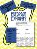 European Explorers Vocabulary Word Sort