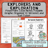 European Explorers and Exploration Lesson