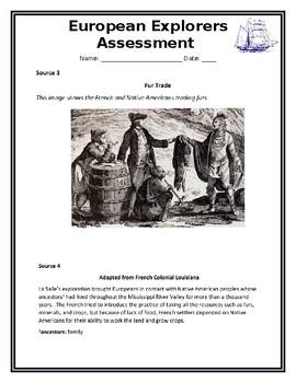 European Explorers in Louisiana Assessment-- LEAP TEST ...