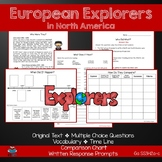 European Explorers in North America