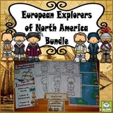 European Explorers of North America (Task Cards Included)