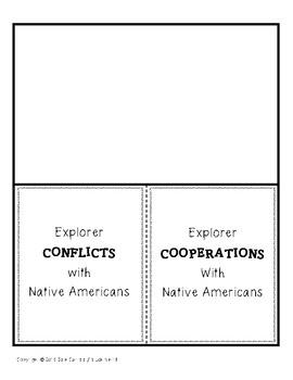 European Explorers of North America Lapbook